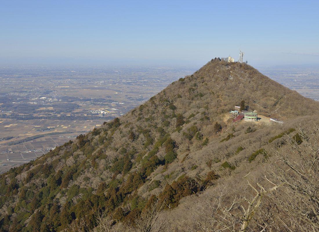登山道・薬王院コース〜自然研究路から山頂