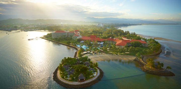 国際空港からわずか10分のところに最高級の5つ星ホテルが!