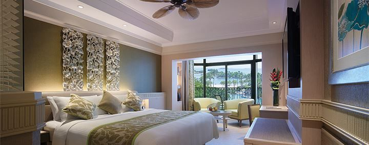 楽園セントーサ島の5つ星リゾート