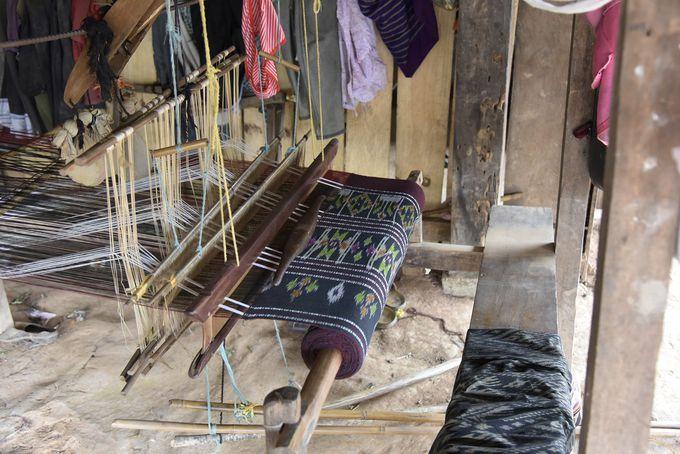 機織りが盛んなフワパン県北部