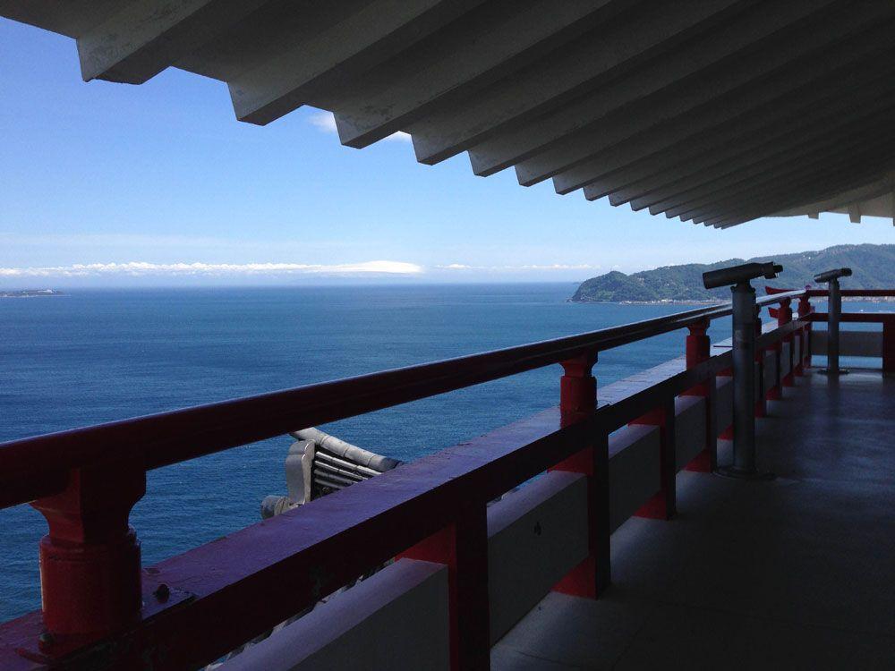 ロープウェイで熱海随一の展望台へ