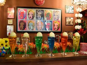 フォトジェニック!京都・24種類ものクリームソーダが味わえるお店「シンセツ」