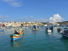 地中海に浮かぶ魅惑の国マルタ共和国・最大の漁村マルサシュロック!
