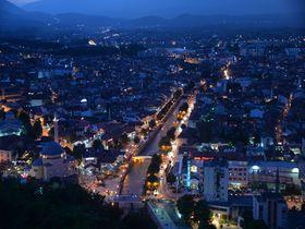 大感動間違いなし!コソボ共和国・プリズレン市城塞からの絶景!