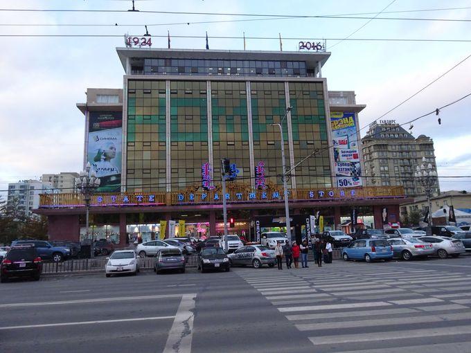 モンゴル最大のデパート!ノミンデパート
