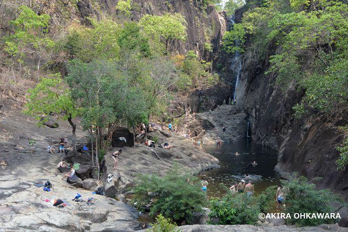 クローン・プルー滝でマイナスイオンを浴びよう!