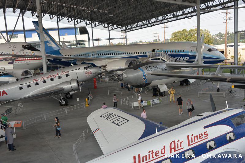 ボーイング発祥の地シアトル!航空マニア必見の「航空博物館」
