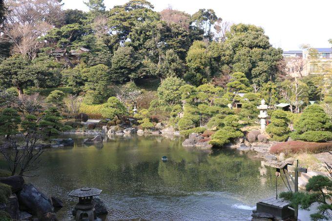江戸の運命に寄与した庭園「松濤園」