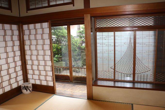 料亭の部屋を巡り、往時の歴史を知る—「寺社めぐりの間」