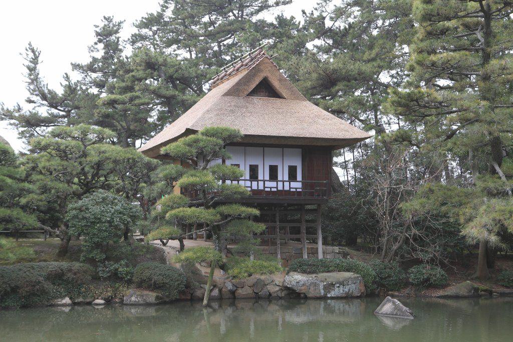 日本最古の煎茶室「観潮楼」