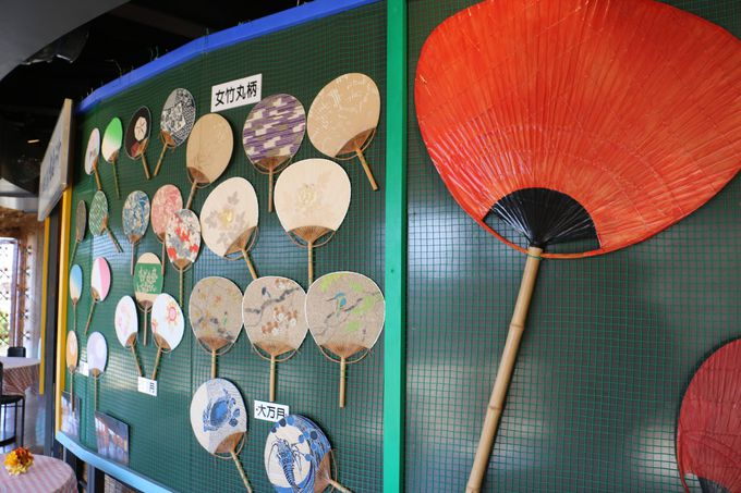 「うちわの港ミュージアム」で金毘羅参りのお土産の歴史の変遷を学ぶ