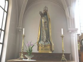 日本で唯一の「黒い聖母マリア」を抱く山形県「カトリック鶴岡教会天主堂」|山形県|トラベルjp<たびねす>