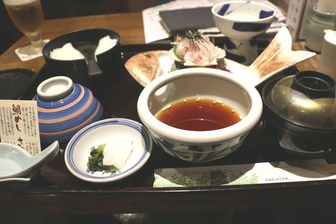 宇和島の郷土料理「鯛めし」