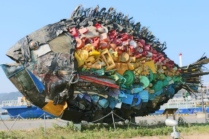 チヌがあなたを待っている! 岡山県「宇野港」周辺のアート5選