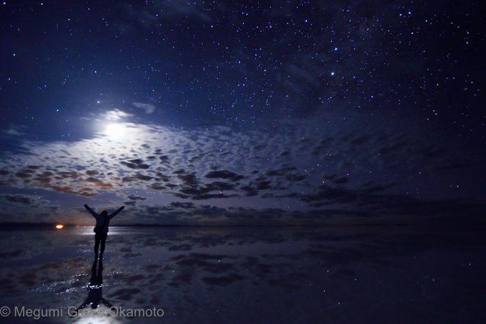 星景か?月景か?それが問題だ