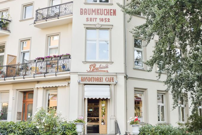 160年以上の歴史を誇るバウムクーヘンの名店!「Buchwald」