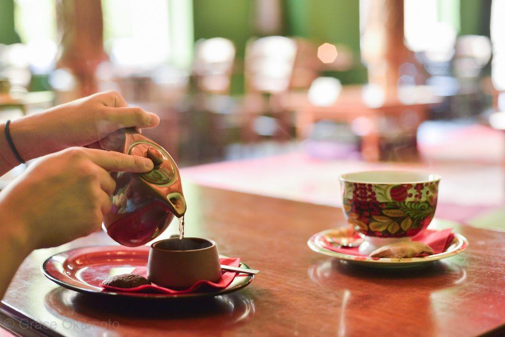 ベルリンのシルクロード?お茶なら「Tadshikische Teestube」