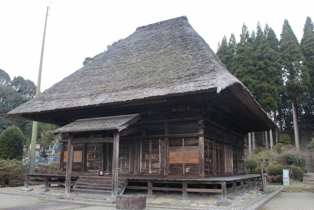 中世の姿を今に残す日本遺産 青蓮寺阿弥陀堂