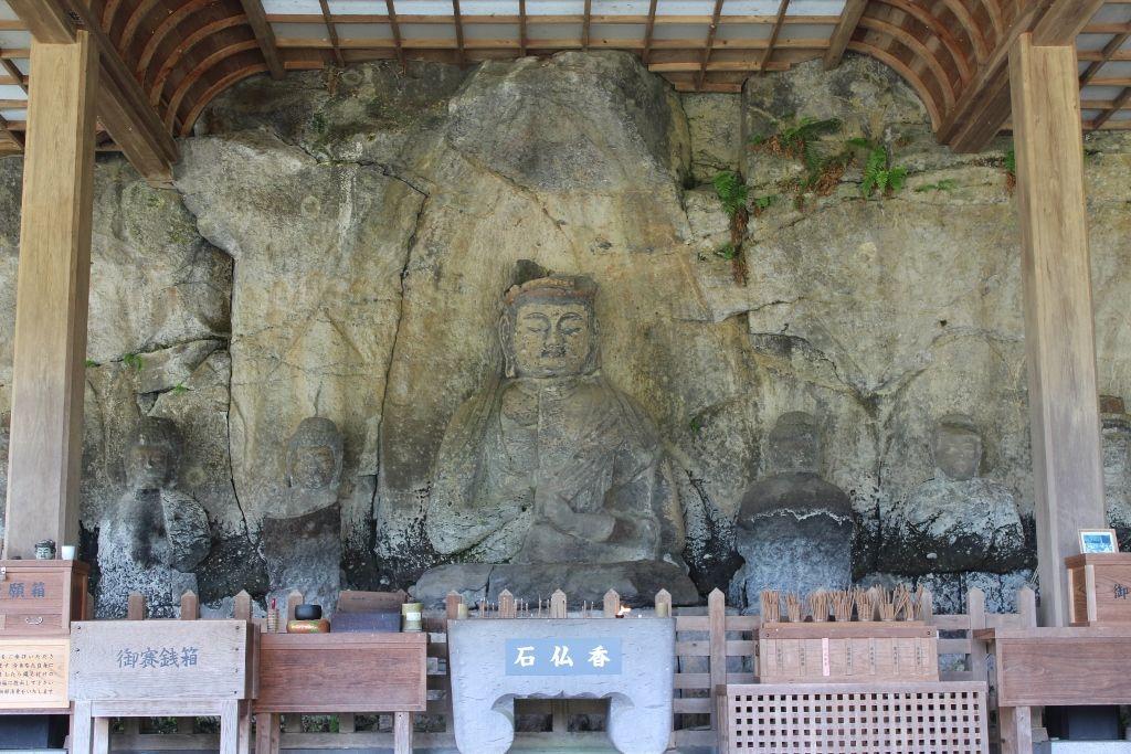 臼杵石仏のシンボル「大日如来像」