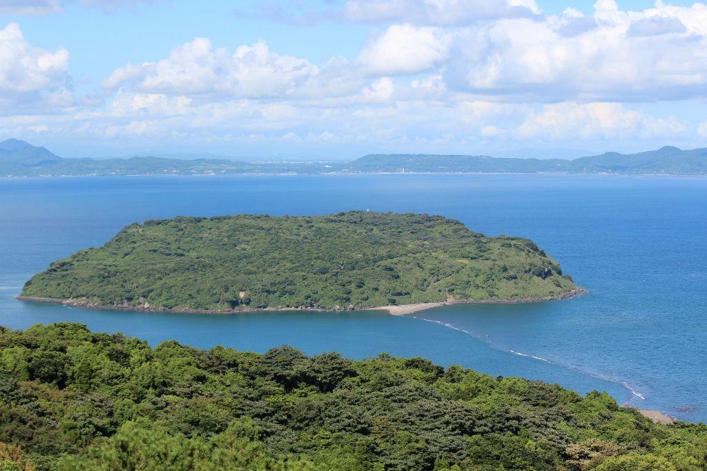 縁結びの島「知林ヶ島」