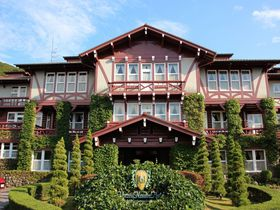 スイスのシャレー風!異国情緒と風格漂う「雲仙観光ホテル」は雲仙温泉の老舗クラシックホテル|長崎県|トラベルjp<たびねす>
