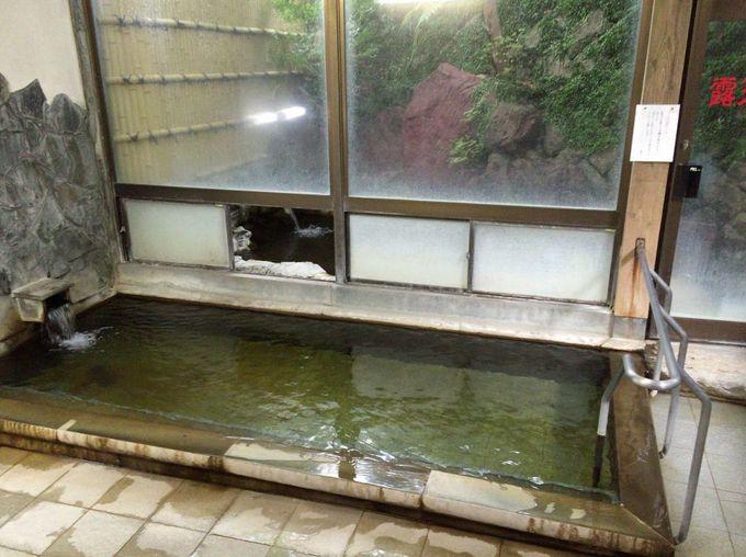 源泉掛け流しのスベスベ温泉