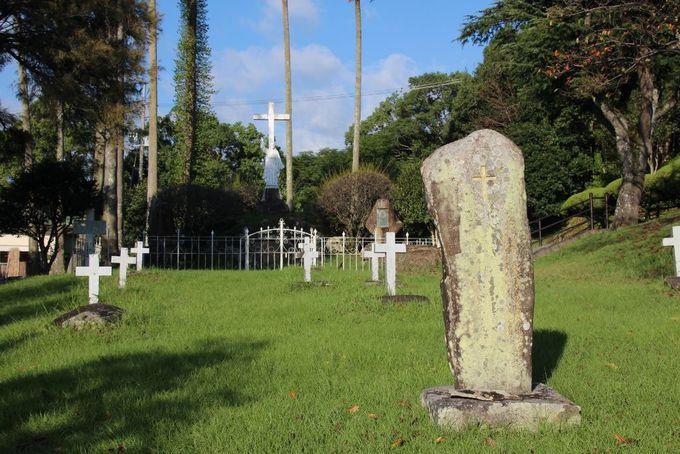 キリスト教禁教時代の信者が眠るキリシタン墓地