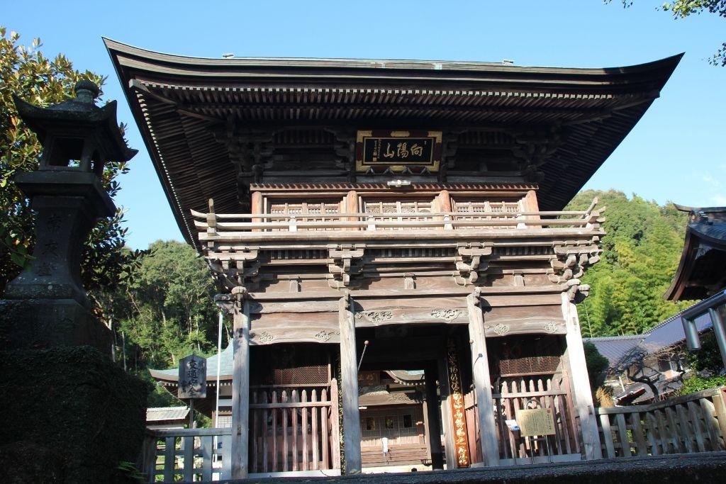 キリスト教からの改宗のために建立された明徳寺