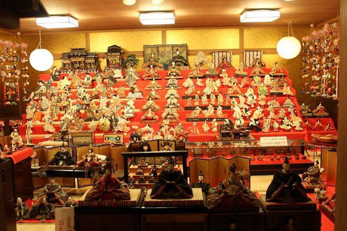 日田醤油の天領雛御殿は新旧の雛人形が勢揃い!