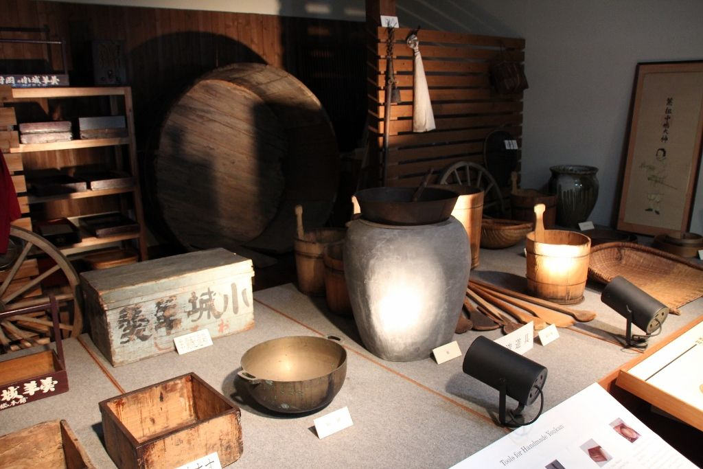 羊羹の歴史と文化を物語る展示室
