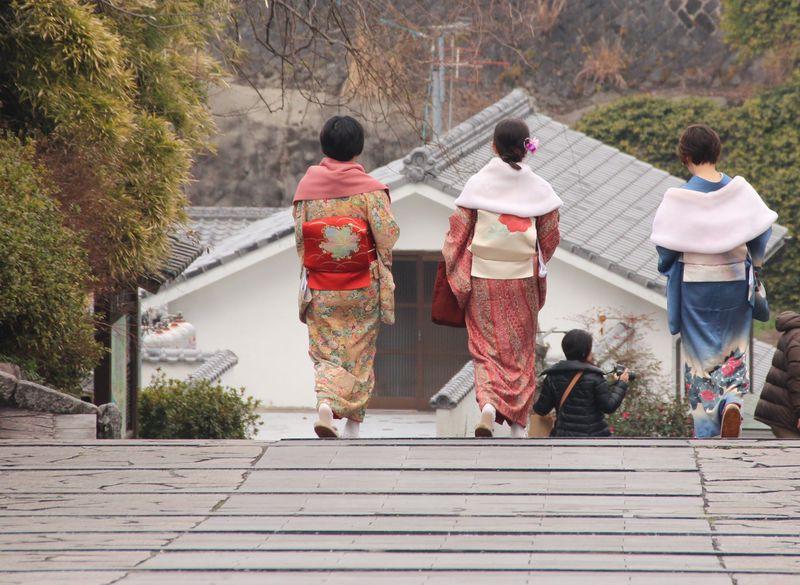 着物応援宣言! 大分県「杵築市」は坂道に着物がよく似合う城下町