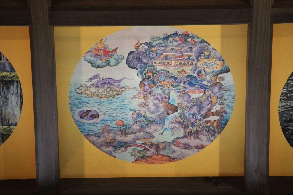 妖怪絵図は108なのに天井には110枚の絵 あとの2枚は?