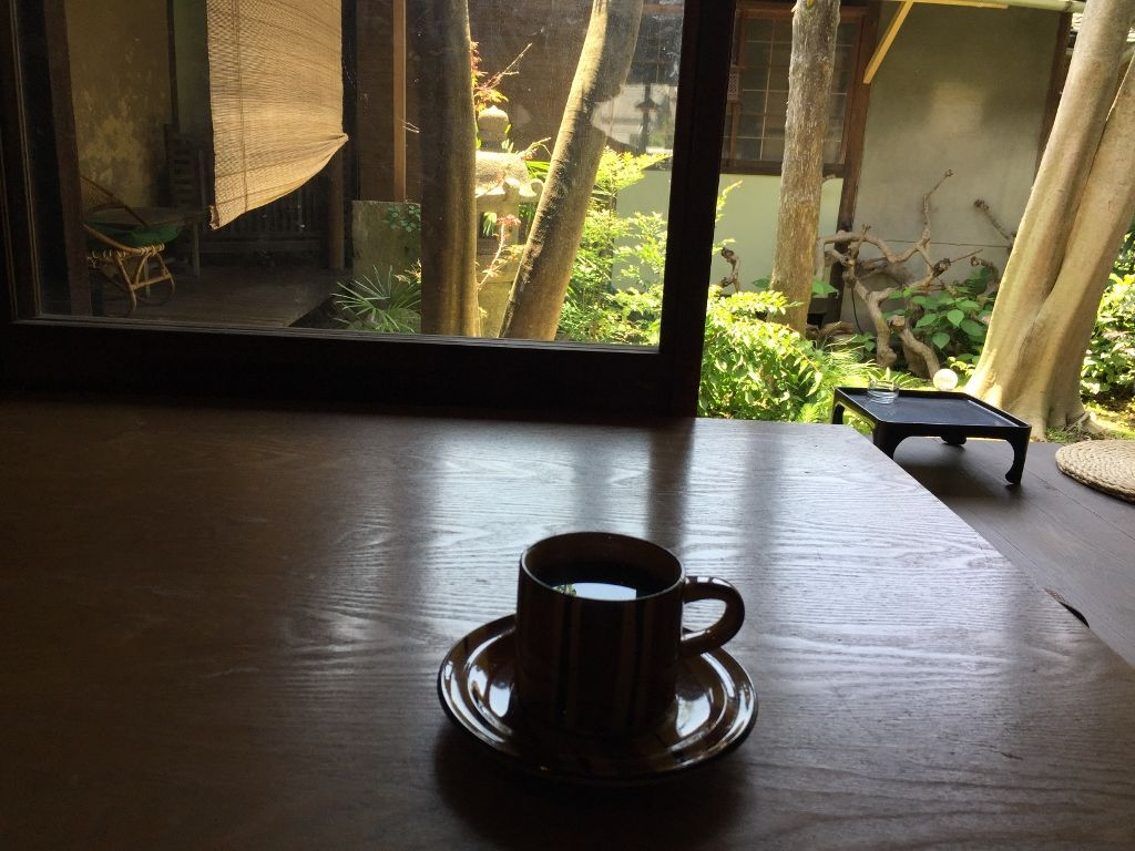 築150年の古民家を使ったカフェ「汐待亭」