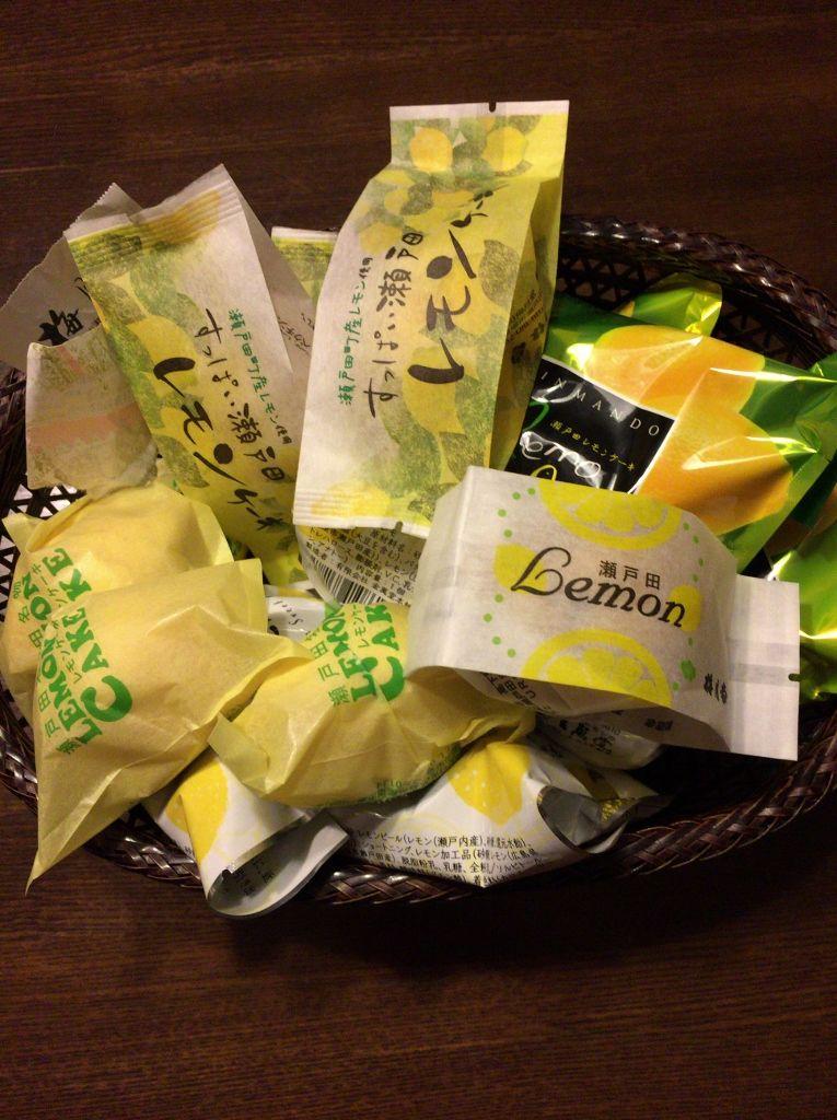 瀬戸田レモンケーキ食べ比べ 尾道市レモンの島「生口島」