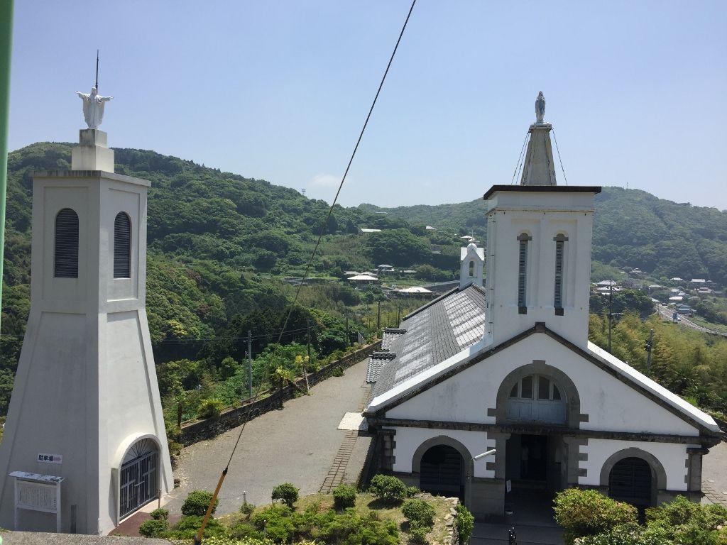 ド・ロ神父が設計した出津教会
