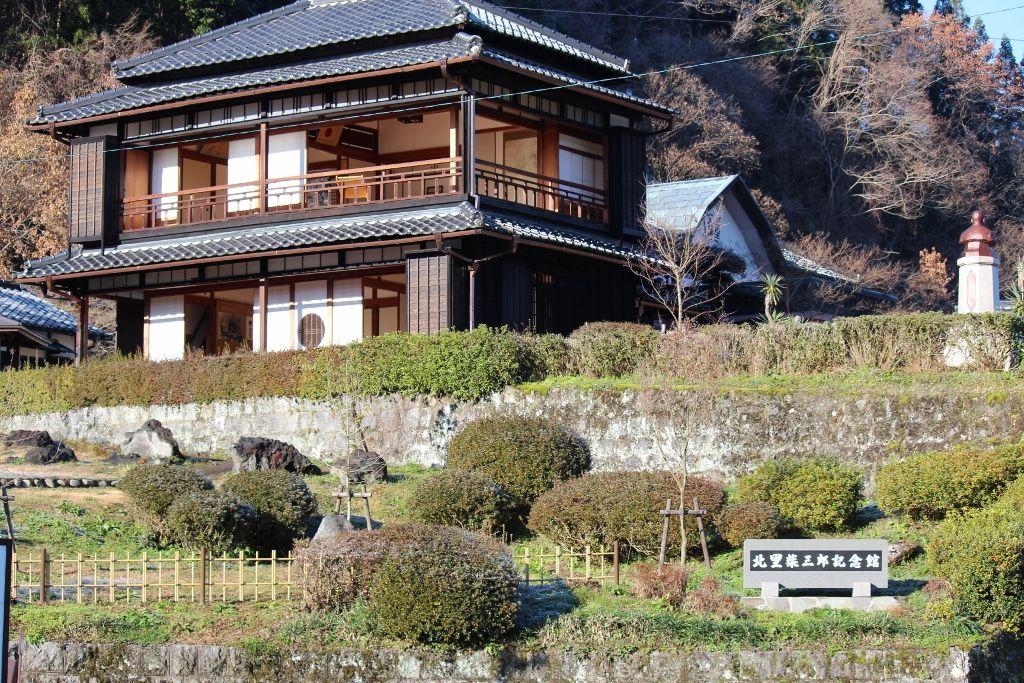 日本細菌学の父を知る「北里柴三郎記念館」