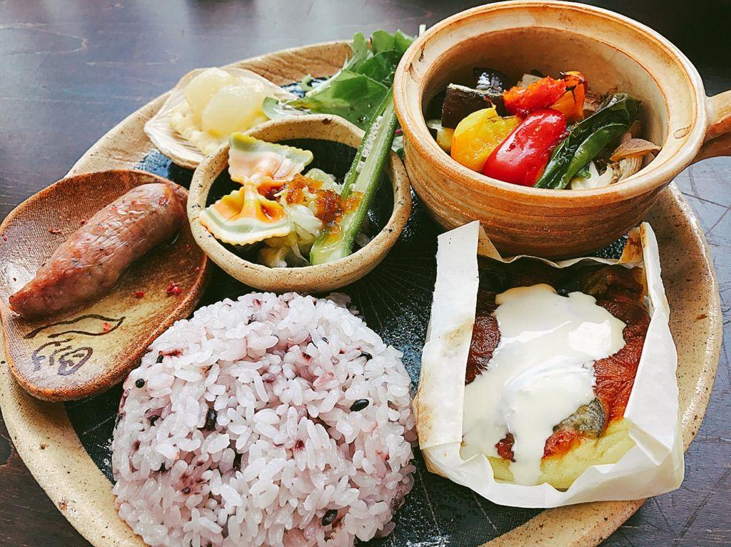 地元産の食材たちが彩るカフェメニュー