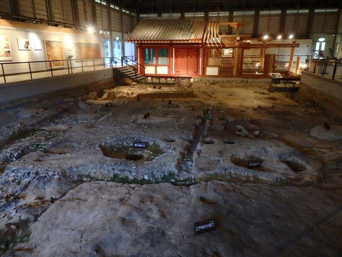 古代のおもてなしの場、鴻臚館跡