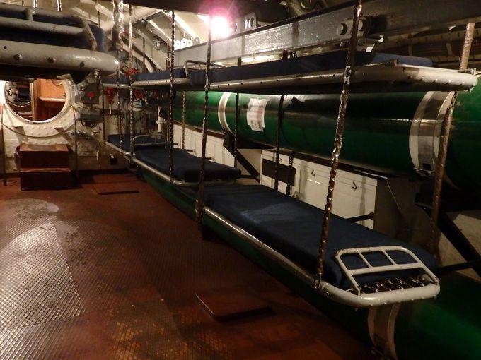 潜水艦の内部を見学!「潜水艦C-56博物館」
