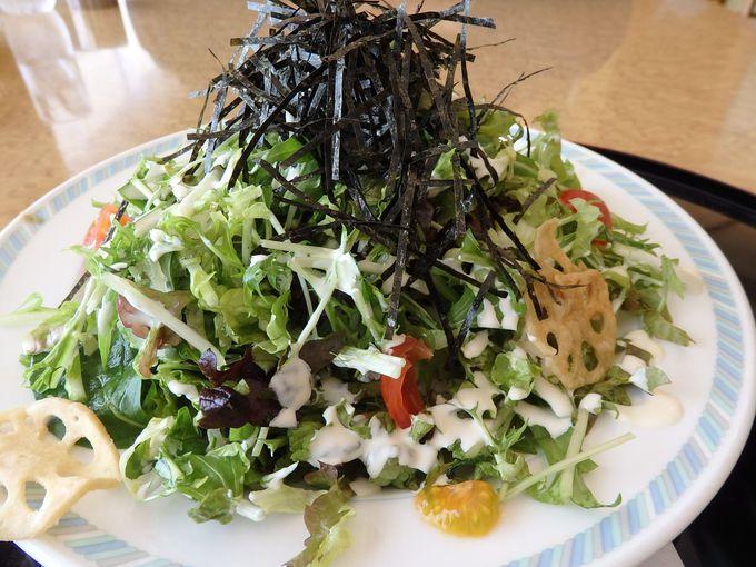 驚きポイントその4:野菜山盛り!シシリアンライス