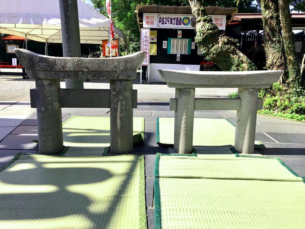 日本一のミニ鳥居?!熊本「粟嶋神社」の鳥居をくぐってみよう