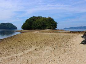 干潮時限定!山口・周防大島の恋のパワースポット「真宮島」海を渡れば恋愛成就|山口県|トラベルjp<たびねす>