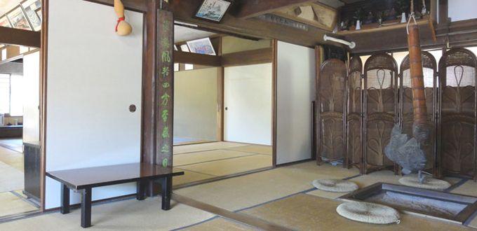 江戸時代の庄屋のお館「五合庵」に泊る!?