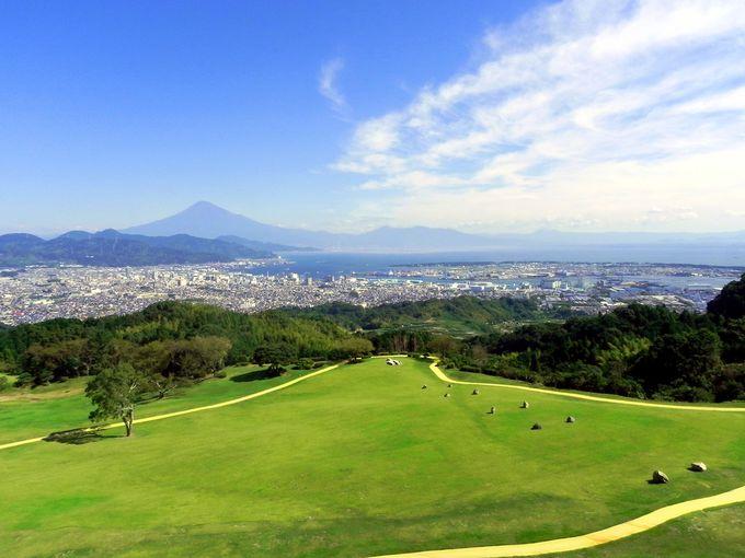 富士山が最も美しく見える庭