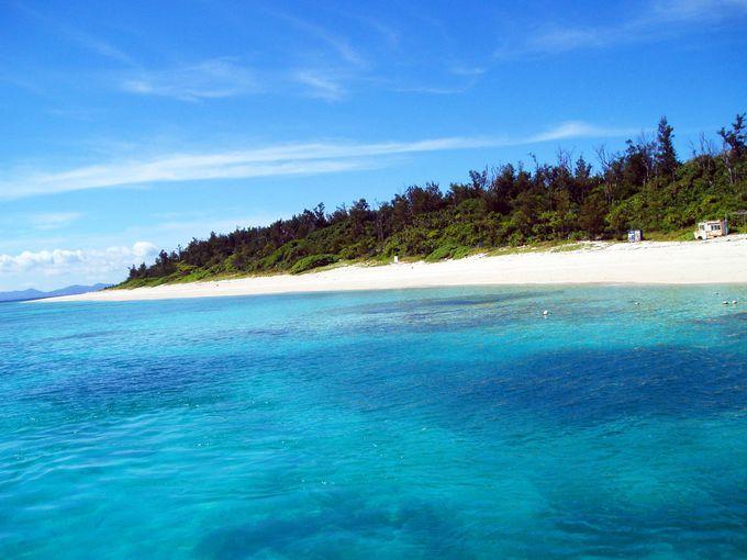 15分の船旅で出会う楽園のクロワッサンアイランド