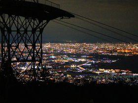 神戸のキラッキラ夜景は有馬温泉から六甲有馬ロープウェーで見に行こう!|兵庫県|トラベルjp<たびねす>