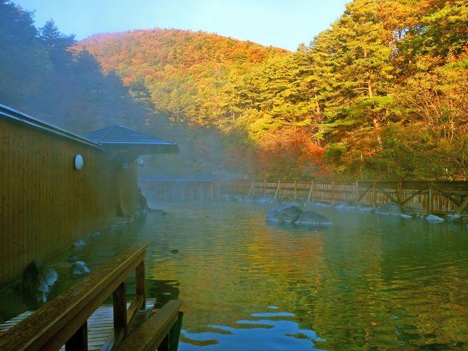 広すぎる超弩級露天風呂は絶対入らなきゃ!西の河原露天風呂と西の河原公園