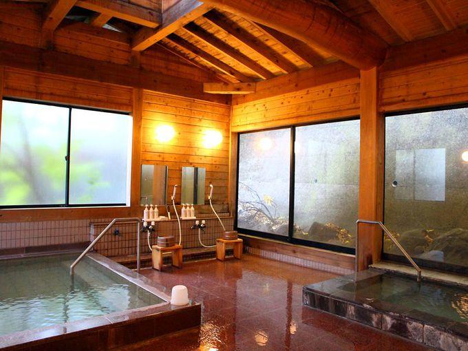 草津温泉最古の旅館・日新館「安兵衛の湯」