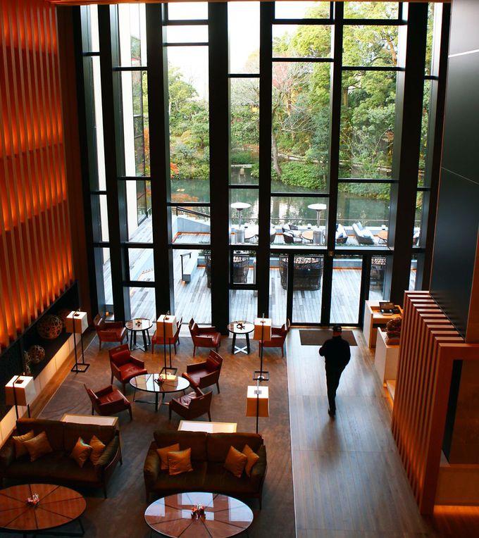 フォーシーズンズホテル京都のメインダイニング「ブラッスリー」