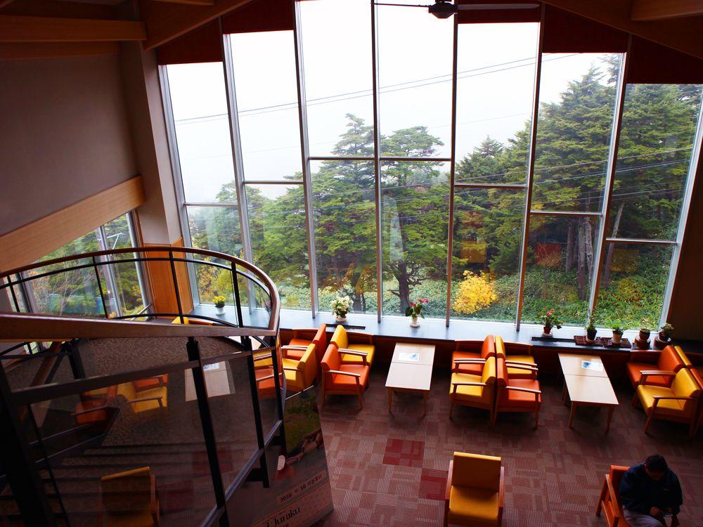 万座ホテル聚楽は日本一硫黄の濃い温泉の宿